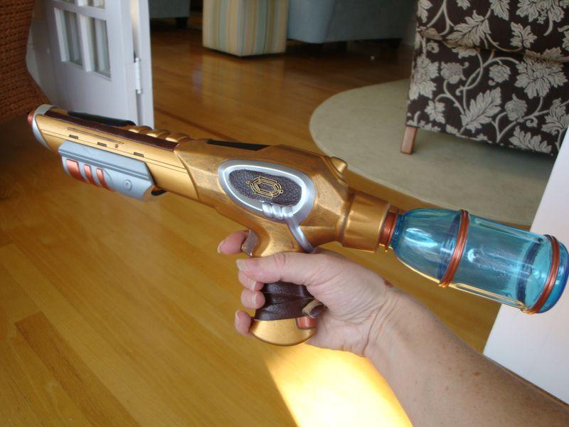 Steampunk gun 008