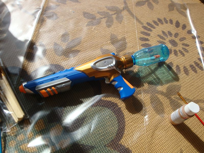 Steampunk gun 002