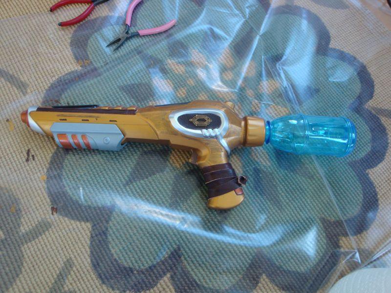 Steampunk gun 006